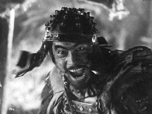 Toshiro Mifune en Los Siete Samuráis.